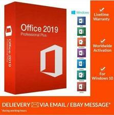 Microsoft®Office 2019 Professional Plus ✅ 32/64 bit ✅ License Key🔑 Instant
