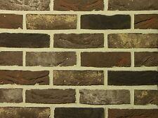 Handform-Verblender WDF BH047 dunkel-braun nuanciert Klinker Vormauersteine