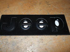 JEEP COMPASS WRANGLER GRAND CHEROKEE JEEP HOOD FENDER TAILGATE EMBLEMS SET NEW