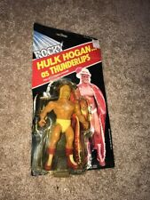 Rocky Hulk Hogan as Thunderlips 1985 United Artist Lewco Open Bubble Look