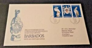 Barbados 1978 25th Anniversary of the Coronation First Day Cover