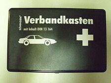AUTO / Kfz.- Verbandskasten schwarz  NEU, bis 2038