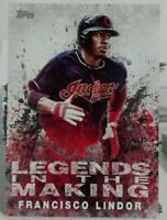 2018 TOPPS SERIES 1 LEGENDS IN THE MAKING OF FRANCISCO LINDOR NO.LTM-FL