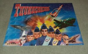 Thunderbirds Jigsaw Puzzle 100 Large Size Pieces, Ravensburger Complete, Used