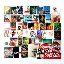 60Pcs Supreme Sticker Vinyl Decal PVC Laptop Skateboard Luggage 2017 New Fashioh