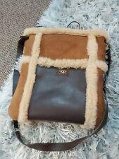 ugg bag sheepskin leather tote shoulder