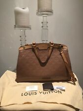 Louis Vuitton Rose Velours Monogram Vernis Brea MM Tote Bag Handbag