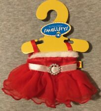 Build A Bear SmallFry Outfit Red Santa Dress Christmas clothing New with hanger