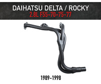 Headers / Extractors for Daihatsu Delta, Rocky and Rugger - 2.8L Diesel