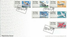 (57186) GB FDC Post and Go Mail by Air Postal Heritage London WC1X 2017