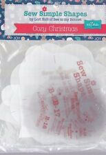 Cozy Christmas Templates - Sew Simple Shapes by Lori Holt - 20 pieces