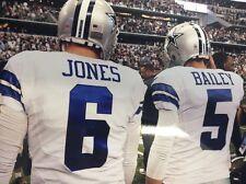 8x10 Photo Chris Jones And Dan Bailey Dallas Cowboys