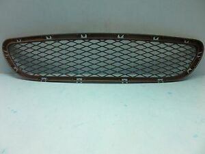 Front Bumper Center Cover Grille Replace BMW OEM # 51117198906