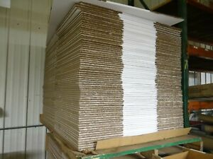 """10 NEW 24"""" X 24"""" X 12"""" HEAVY DUTY DOUBLE WALL CORRUGATED BOXES WHITE"""