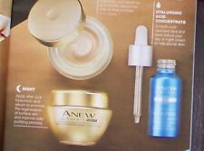 AVON ANEW ULTIMATE & PLUMPING SKINCARE REGIME DAY & NIGHT CREAM & CONCENTRATE AA