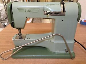 Vintage ELNA Supermatic 722010 Sewing Machine Nice Made in Switzerland