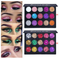 Shimmer Glitter Eye Shadow Powder Palette Matte Eyeshadow Women Cosmetic Makeup