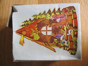 VINTAGE SMALL 1950's PLASTIC NATIVITY SET, BOXED
