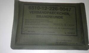 Verbandpaeckchen Brandwunden Vers-Nr: 6510-12-226-0047 10 er Pack