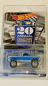 2020 Hot Wheels 20th Nationals Convention #2 Series Car '70 Dodge Power Wagon