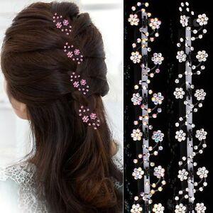 Set 6 Haarklemmen Hochzeit Kommunion Haarschmuck Blumen Haarklammer Haarclips