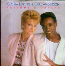 "7"" gloria Loring & Carl Anderson/Friends & Lovers (D)"