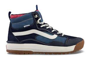 Vans Size Men's 10 UltraRange EXO HI MTE Navy Blue All Terrain Shoes