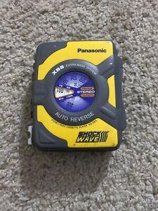 Panasonic RQ-SW5 ShockWave AM/FM Cassette Player