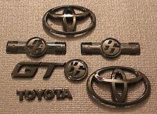 Toyota GT86 Scion FRS Gloss Black Badge Bundle (Complete Set) (2012+) (Gloss)