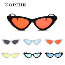 b37650698c3adb Femme rétro Oeil de chat Des lunettes de soleil Lunettes de soleil miroir  rouge