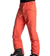 Quiksilver Boundry da Uomo da Sci Snowboard Pantaloni Pantaloni Salopette Neve NUOVO PREZZO CONSIGLIATO £ 140