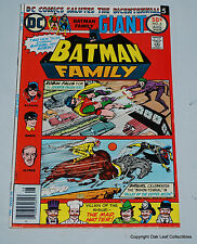 Batman Family 6 DC Comic Book 1976 F-VF 1st Joker's Daughter!