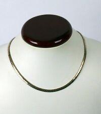 Vintage Brass Omega Choker Necklace