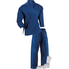 Century Kid's 6 oz. Lightweight Student Uniform with Elastic Pants - Blue