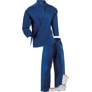 Century Kid's 6 oz. Lightweight Student Uniform with Elastic Pants - Blue