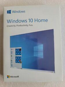 Microsoft Windows 10 Home - Full Retail Version (USB Flash Drive) 32-64 bit