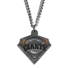 "MLB San Francisco Giants Classic Chain Necklace Team 20"" Triangle Jewelry"