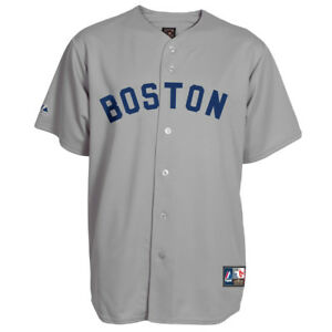 NWT Boston Red Sox Majestic Big & Tall Cooperstown Men's Replica Jersey
