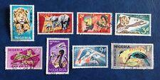 Nigeria - Part Set Of 1965 Pre-decimal Stamps