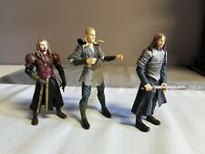 *AS IS* 3 Assorted Lord of the Rings Figures (Legolas, Eomer, Faramir)