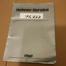 Hohner PK 250 Service Manual
