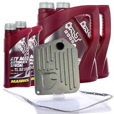 Hydraulikfilter + 10L Getriebeöl Service Set Automatikgetriebe für Audi A4 A6