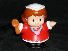 Fisher Price Little People Holiday Hanukkah Mom with Spoon New