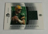 R20,267 - BRETT FAVRE - 2003 SP AUTHENTIC - THREADS JERSEY - PACKERS -