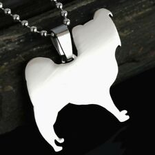 Stainless Steel Papillon Continental Toy Spaniel Butterfly Dog Pendant Necklace