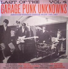 LAST OF THE GARAGE PUNK UNKNOWNS VOL 4 CRYPT RECORDS LP VINYLE NEUF NEW GATEFOLD