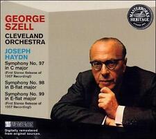 NEW! Haydn: Symphonies 97, 98 & 99 (CD-1997 Sony Music (USA))