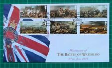 Buckingham Covers 2015 Bicentenary of The Battle of Waterloo FIRST DAY COVER