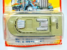 Matchbox SF Nr.02C Hovercraft avacado/schwarz Turbinen chrom top in Box