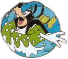 GOOFY SPLASHING In INNERTUBE Inner Tube WATER Disney NO HM 2002 CAST LANYARD Pin